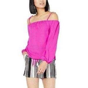 INC XL Black White Striped Shorts NWT BL81